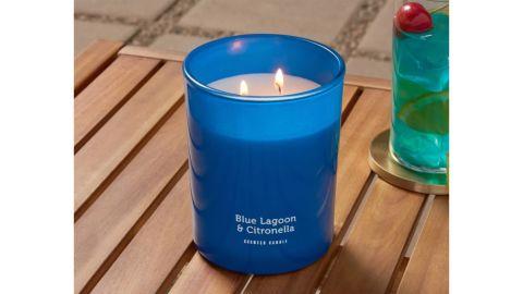 Sun Squad 2-Wick Americana Citronella Blue Lagoon Candle