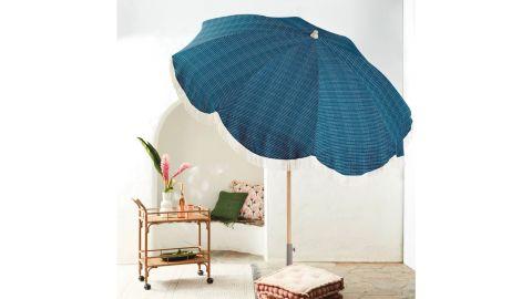 Opalhouse Round Fringed Patio Umbrella