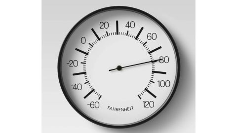 Room Essentials 10-Inch Round Dial Thermometer