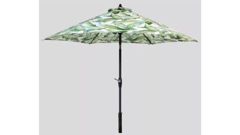 Threshold 9-Foot Round Vacation Tropical Patio Umbrella