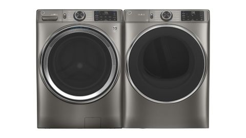 GE Smart Front-Load Washer and Electric Dryer