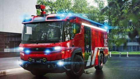 Rosenbauer RT Electric Fire Truck