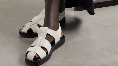 The Row Gaia 1 Eoven Leather Sandals
