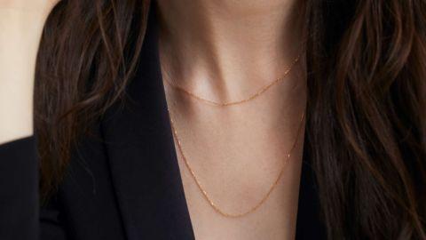 Mejuri Long Gold Chain