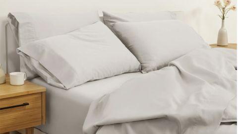 Casper Sateen 276-Thread-Count Organic Cotton Sheet Set