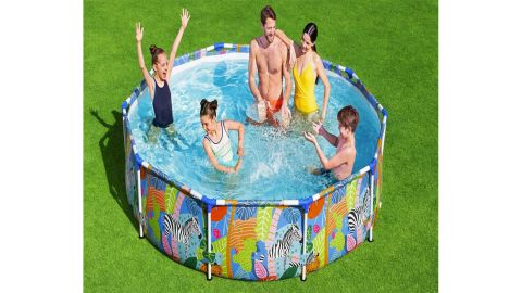 Steel Pro Above-Ground Swimming Pool