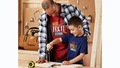 Dad and Kid Fix-it Tees