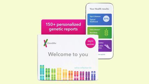 23andMe Health + Ancestry DNA Test