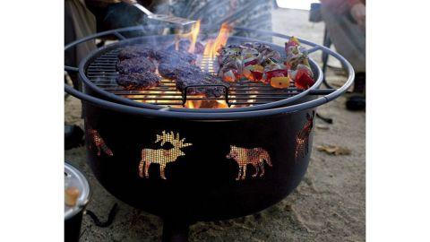 L.L.Bean Backyard Wildlife Fire Pit and Grill