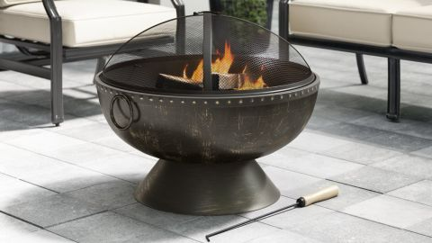 Tuscola Steel Outdoor Fire Pit