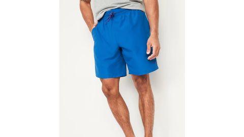 Solid-Color Swim Trunks