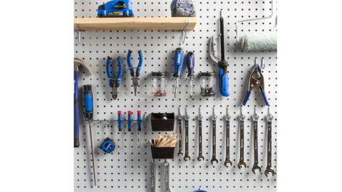 Blue Hawk 43-Piece Steel Pegboard Kit