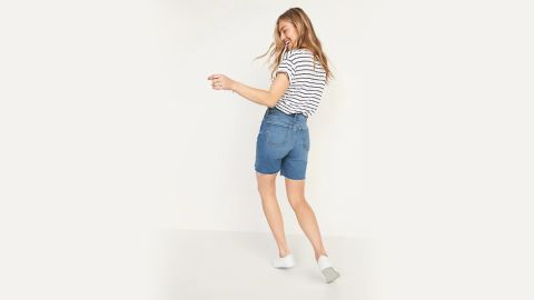 Old Navy Extra High-Waisted Sky Hi Button-Fly Cut-Off Jean Shorts — 7-Inch Inseam