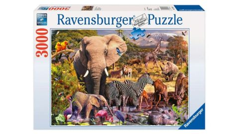 African Animals 3000 Piece Puzzle 3,000-Piece Jigsaw Puzzle