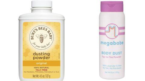 Burt's Bees Dusting Powder & Megababe Body Dust
