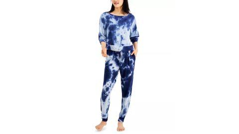 Jenni Women's Tie-Dyed Loungewear Set