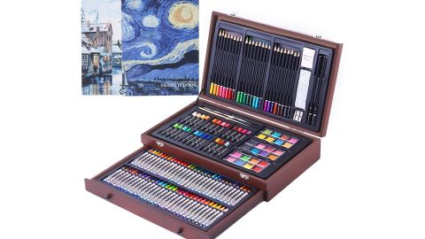 Cool Bank 145-Piece Art Set