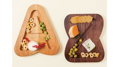 Monogram Cheese & Crackers Serving Board