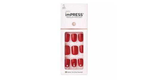 Kiss ImPress Press-On Manicure False Nails in Kill Heels
