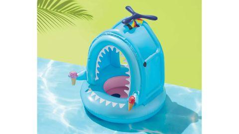 Lil' Canopy Shark Float Light Blue