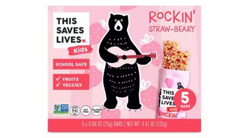 Rockin' Straw-Beary Kids Bars