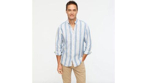 Slim Untucked Baird McNutt Irish Linen Shirt
