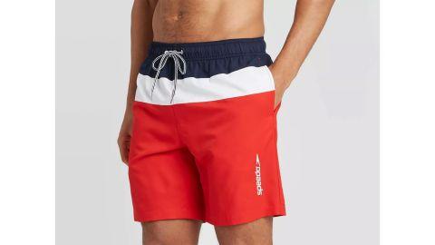 Speedo Men's 8-Inch Colorblock Swim Shorts