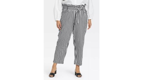 Who What Wear Ankle Length Paperbag Trousers