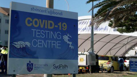 screengrab sydney covid testing