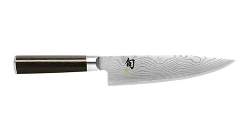 Shun Classic 8-Inch Chef's Knife With VG-MAX Cutting Core and Ebony PakkaWood Handle