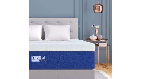 BedStory Lavender Memory Foam Mattress