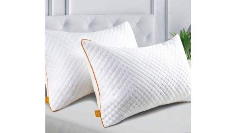 Maxzzz Pillows Bamboo Fiber King-Size Pillow