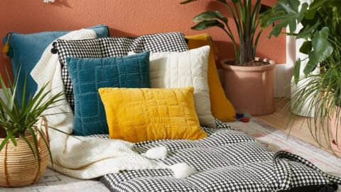 Opalhouse Designed With Jungalow Quilted Cotton Velvet Throw Pillow