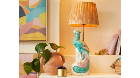 Opalhouse Designed With Jungalow Peacock Table Lamp