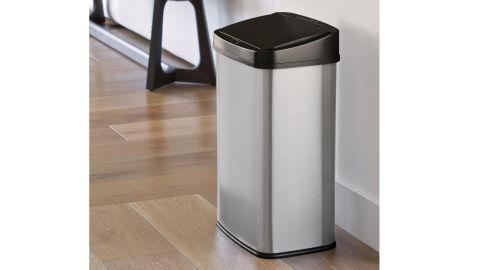 NineStars Stainless Steel Motion Sensor Trash Can