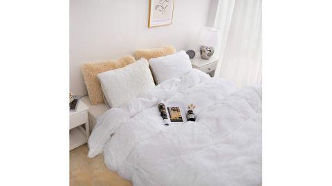 Plush Fluffy Duvet Cover Set