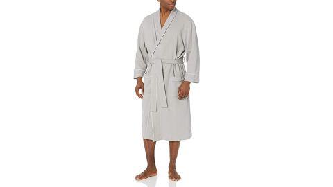 Amazon Essentials Men's Waffle Shawl Robe