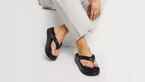 Asos Design Ferris Chunky Flip-Flop Sandals