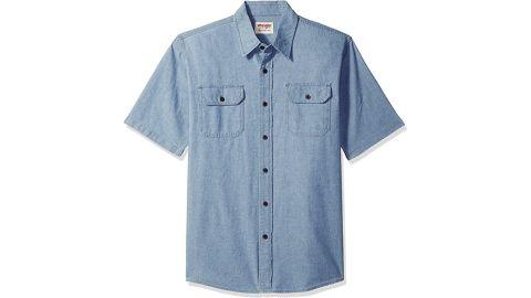 Wrangler Authentics Short Sleeve Classic Woven Shirt