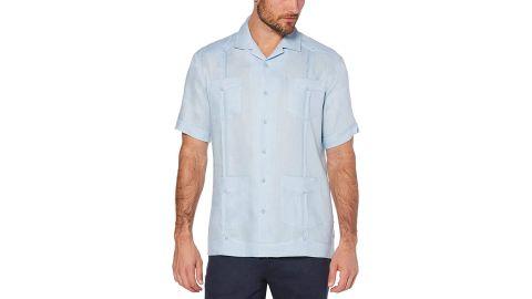 Cubavera Short Sleeve 100% Linen Guayabera