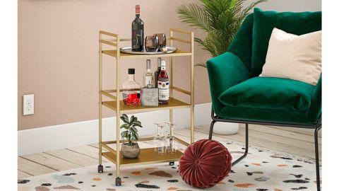 Helix Bar Cart