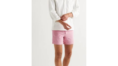 Drake's Slim Fit Cotton-Corduroy Chino Shorts