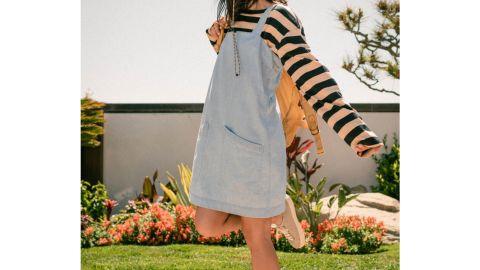 Organic Chambray Shift Dress