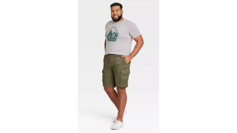 Goodfellow & Co Men's 11-Inch Cargo Shorts