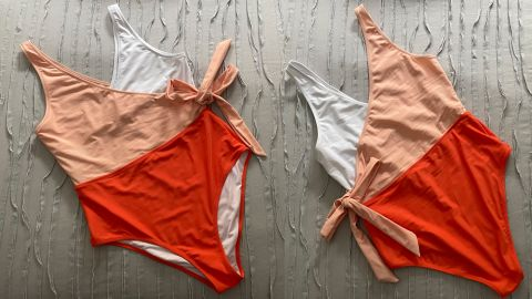 Cupshe Women's One-Piece Swimsuit Wrap