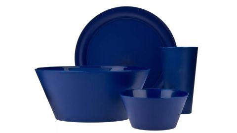 CreativeWare Plastic 13-Piece Dinnerware Set