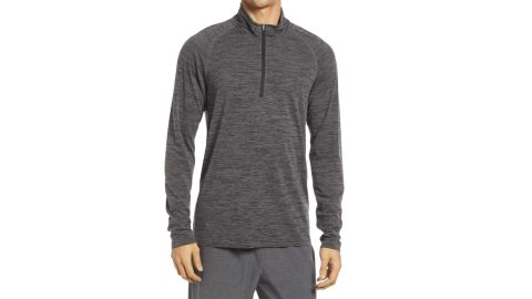 Zella Mens Quarter-Zip Pullover