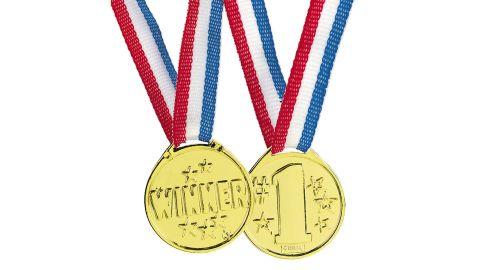 Goldtone Winner Medals