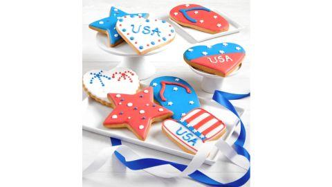Patriotic Artisan Iced Cookies