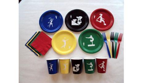Summer Olympics Tableware Set for 5 People